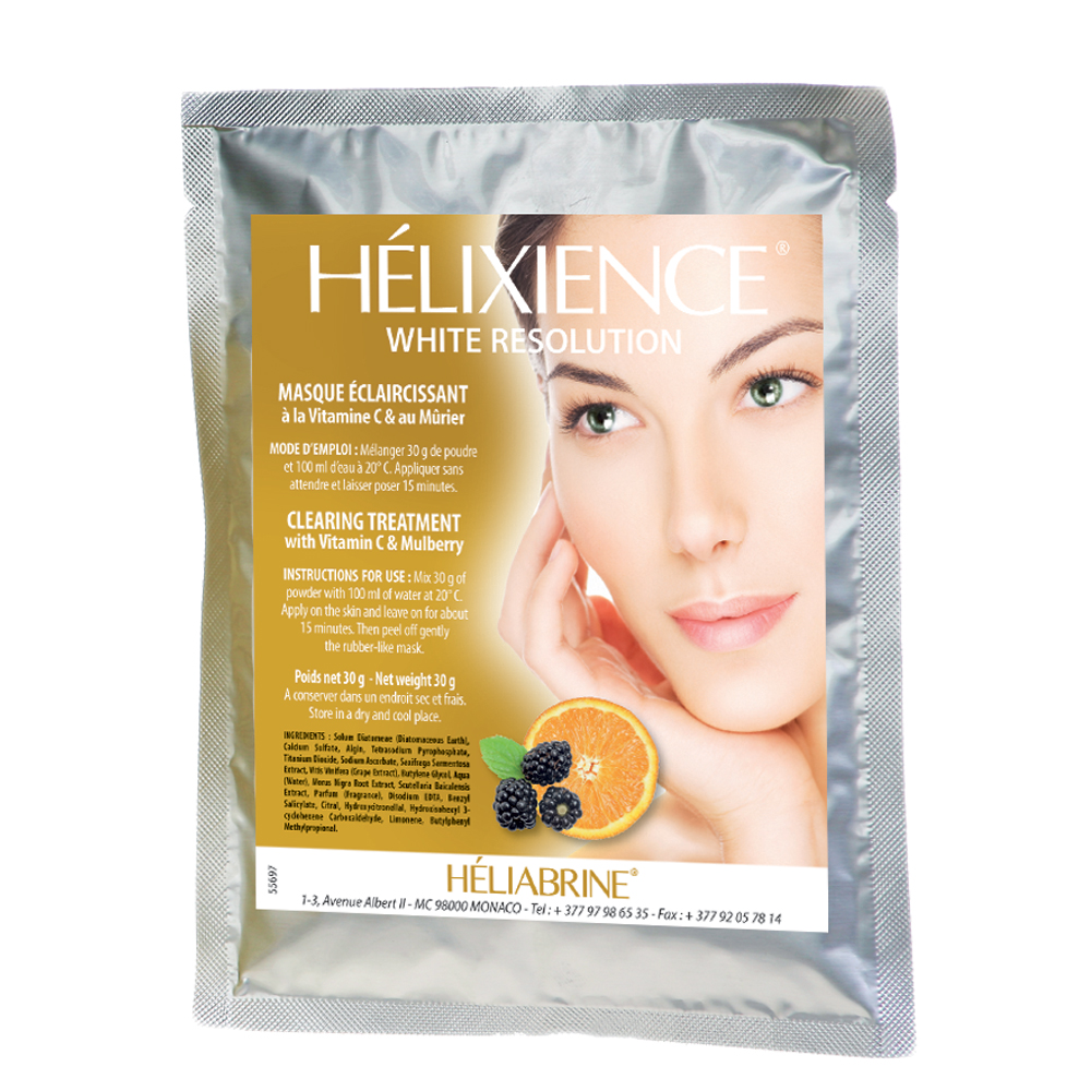 Mask with Mulberry Helixience