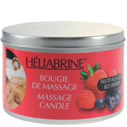 Red berries Massage Candle