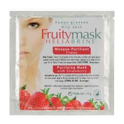 Purifying mask with strawberry