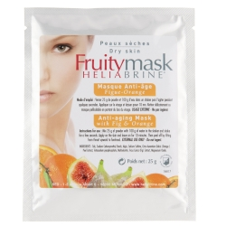 Anti ageing mask with fig & orange