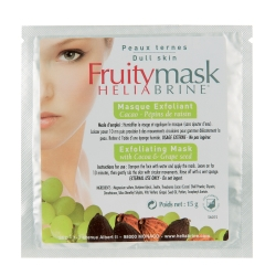 Exfoliating mask with cocoa & grape